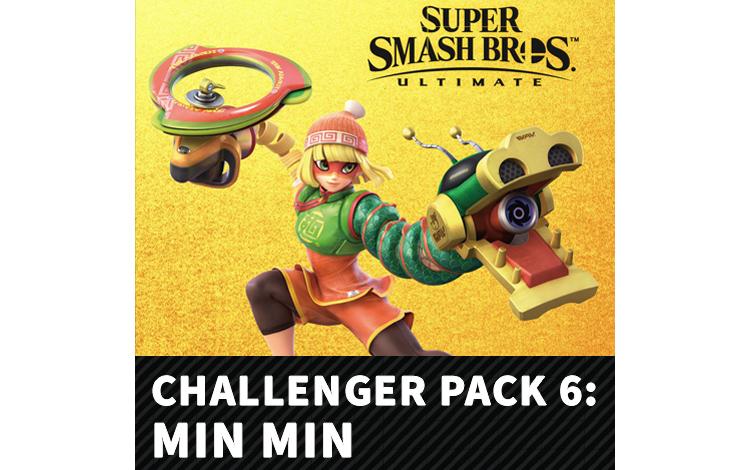Super Smash Bros.™ Ultimate - Набор бойца 6: Минь Минь (Nintendo Switch - Цифровая версия)