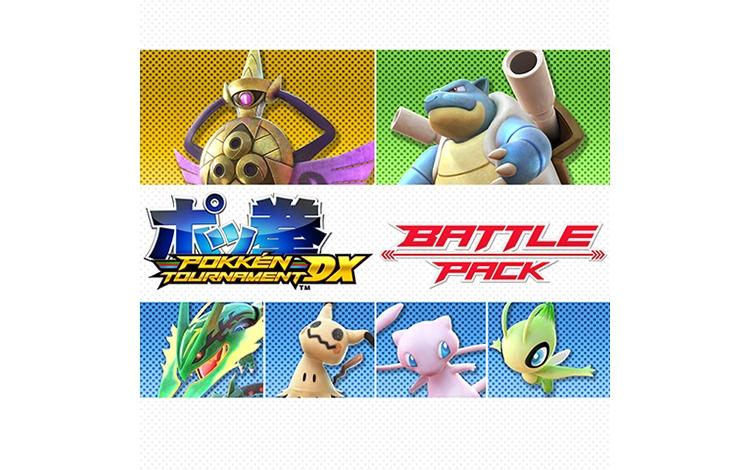 Pokken Tournament DX Battle Pack (Nintendo Switch - Цифровая версия)