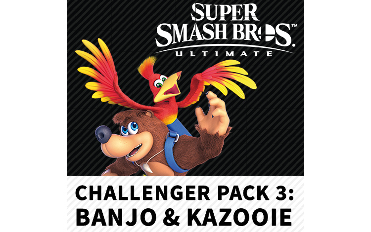 Super Smash Bros.™ Ultimate - Набор бойца 3: Банджо и Казуи (Nintendo Switch - Цифровая версия)