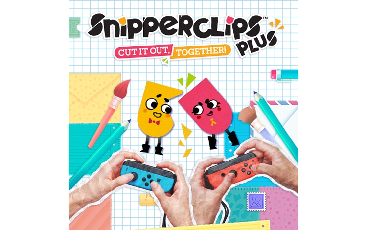 Snipperclips – Cut it out, together! PlusPack (Nintendo Switch - Цифровая версия)