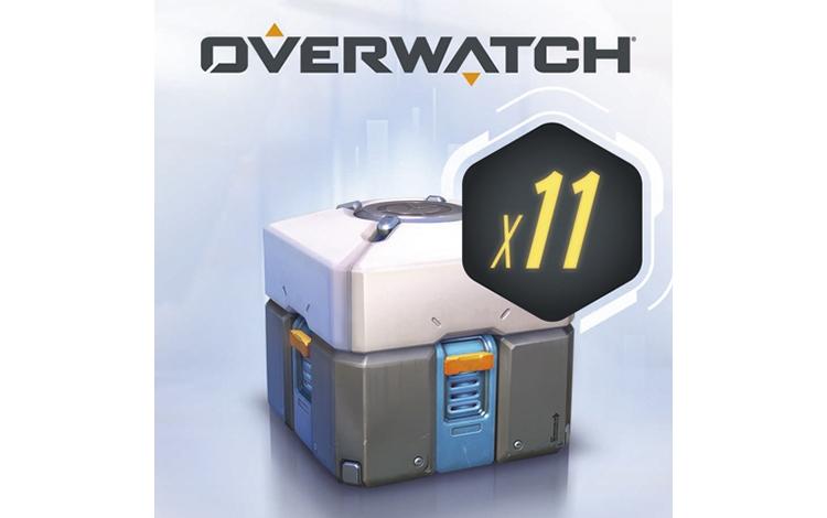 Overwatch®: 11 контейнеров (Nintendo Switch - Цифровая версия)